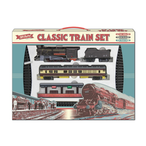 Retro Train Set