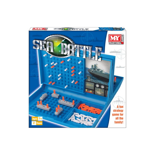 Sea Battle Board Game