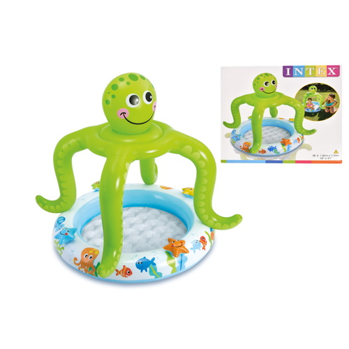 Intex Smiling Octopus Shade Baby Pool (1.02m x 1.04m)