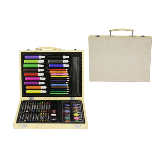 Wooden Art Craft Set (67pcs)