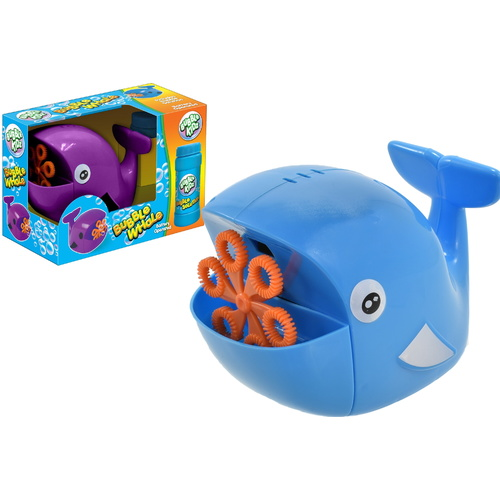 Whale Bubble Machine with Bubbles