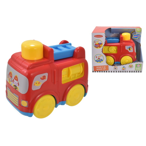 Infunbebe Press N Go Fire Engine