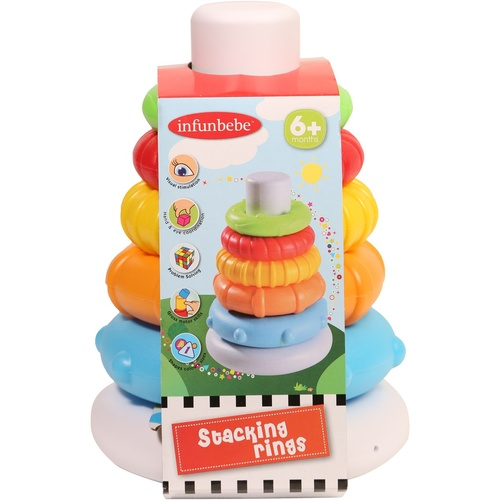 Infunbebe My First Stacking Rings Activity Playset