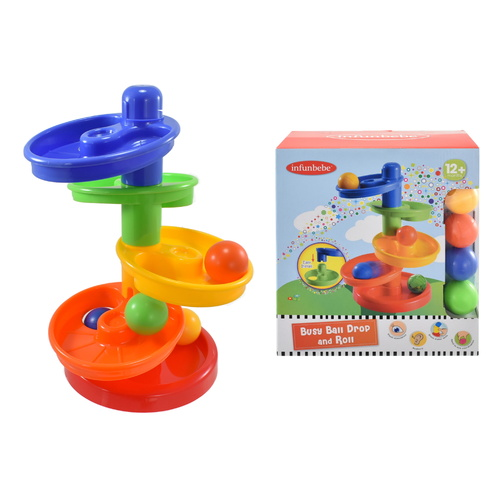 Infunbebe Busy Ball Drop & Roll Set
