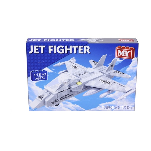 Jet Fighter Building Bricks (118pcs)