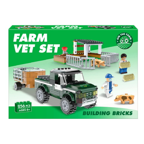 Farm Vet Brick Set (256pcs)
