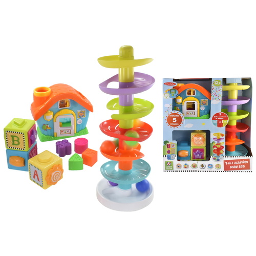 Infunbebe 3 In 1 Activity Playset