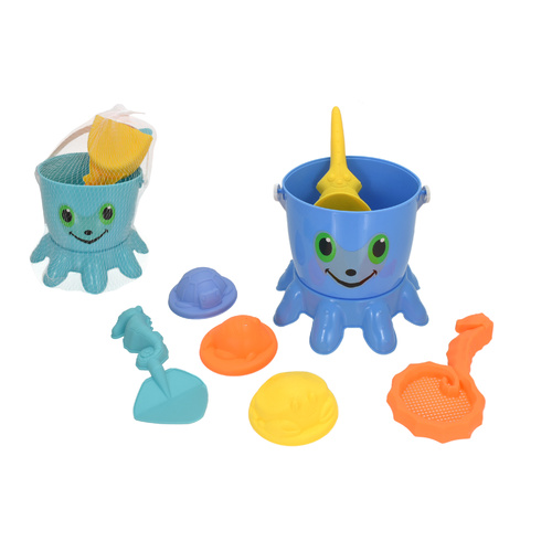 7pc Octopus Bucket Set