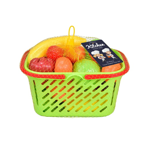 Food Basket 23pc Playset