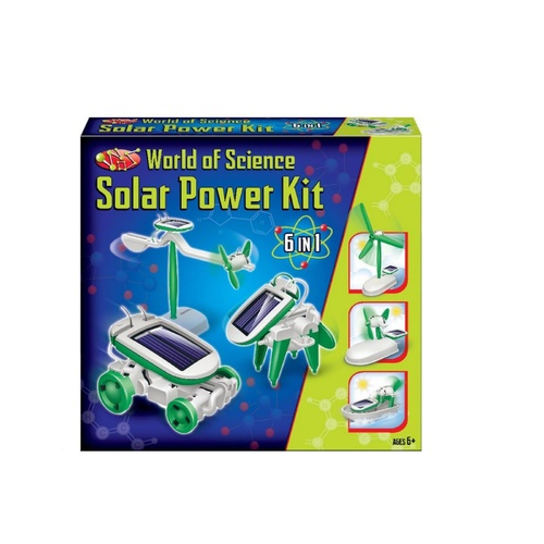 Solar Power Science Kit (6 in 1)