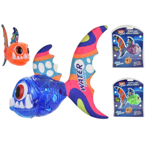 Light Up Dive Fish Game