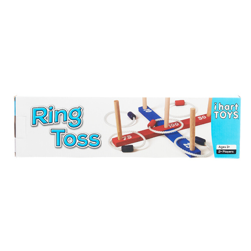 Wooden Garden Quoits Ring Toss
