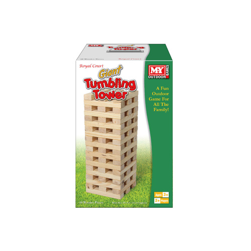 Giant Wooden Tumbling Tower