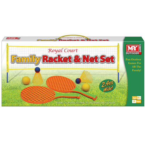 Family Racket Outdoor Tennis Net Set