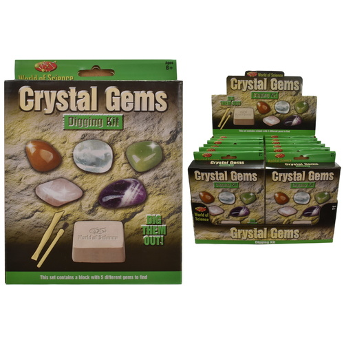 Crystal Gems Digging Science Kit