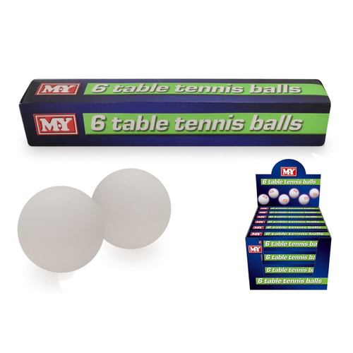 Table Tennis Ping Pong Balls (1 Pack)