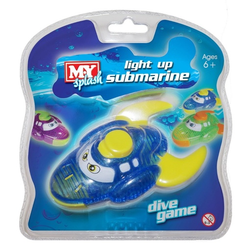 Submarine Light Up Dive Game