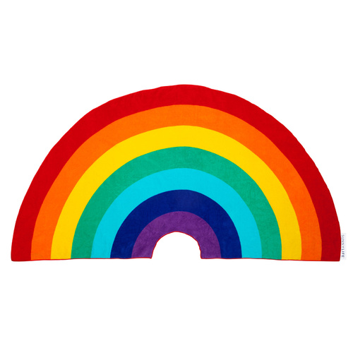 Rainbow Shaped Pool Towel